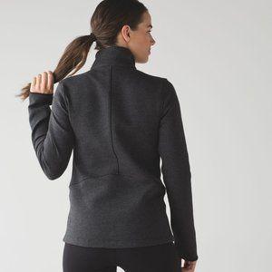 Lululemon Insculpt Jacket Heathered Black / Black